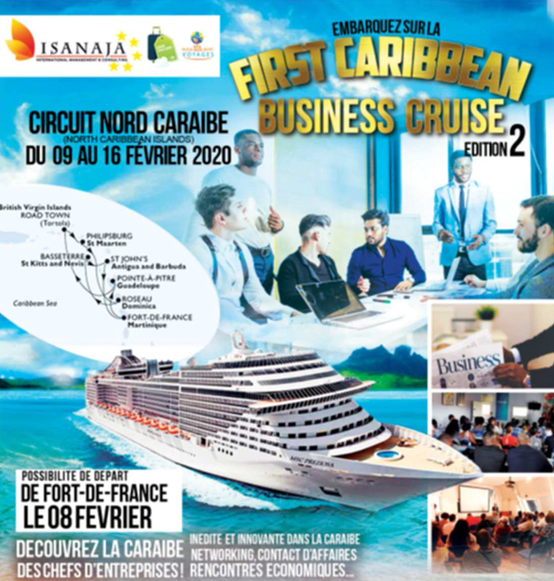 business cruise